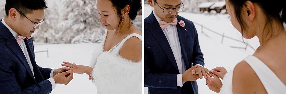 Engagement Session in the snow in Zermatt Switzerland :: Luxury wedding photography - 23