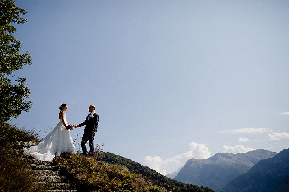 Un Matrimonio Colorato in Montagna | Ausserberg Svizzera :: Luxury wedding photography - 20