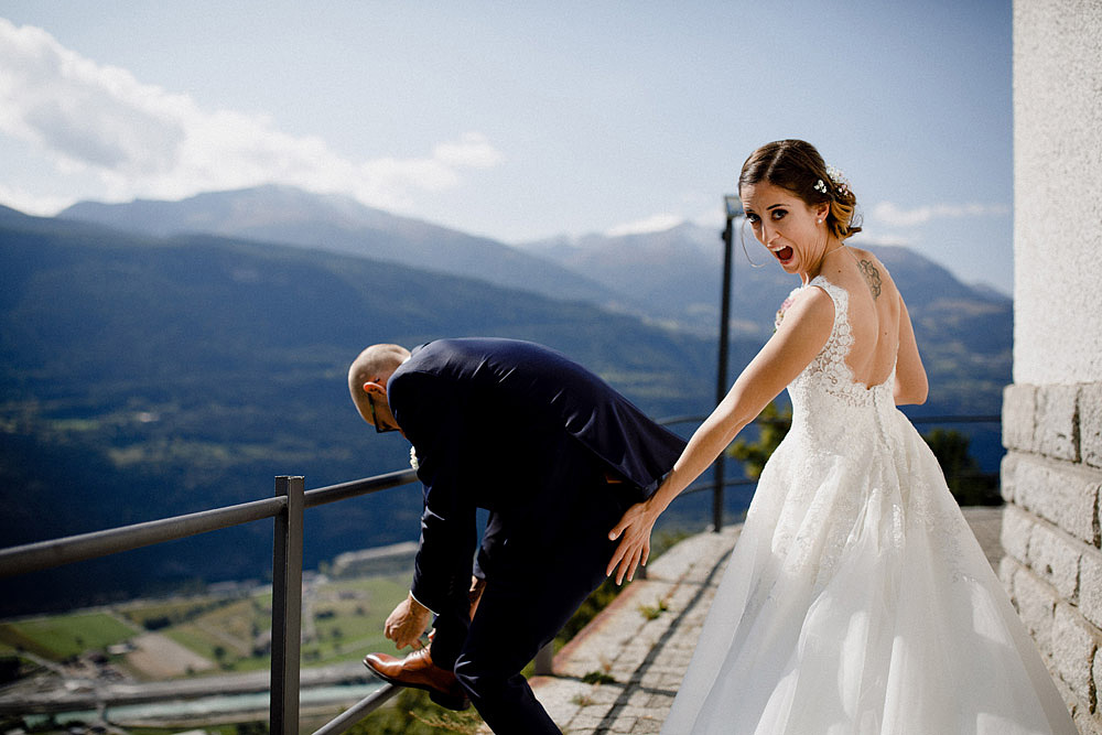 Un Matrimonio Colorato in Montagna | Ausserberg Svizzera :: Luxury wedding photography - 23
