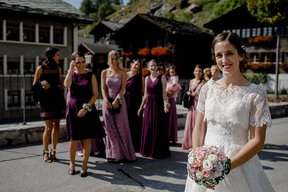 A Colourful Wedding in the Mountain | Ausserberg Switzerland :: Luxury wedding photography - 32