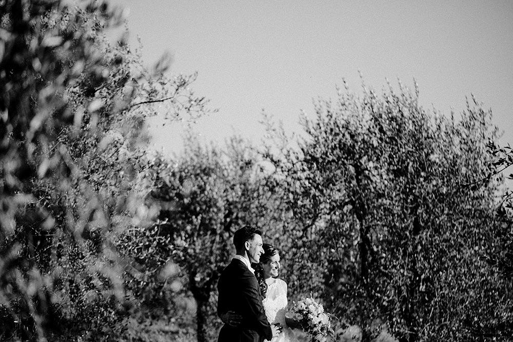 Matrimonio nel Chianti nell'incantevole atmosfera del Castello di Meleto