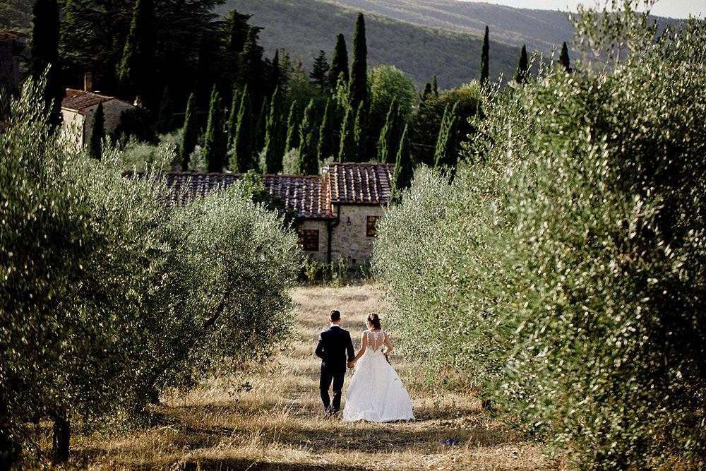 Matrimonio nel Chianti nell'incantevole atmosfera del Castello di Meleto :: Luxury wedding photography - 32