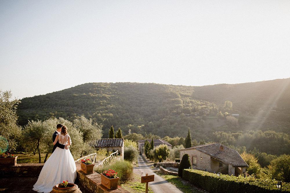 Matrimonio nel Chianti nell'incantevole atmosfera del Castello di Meleto :: Luxury wedding photography - 36