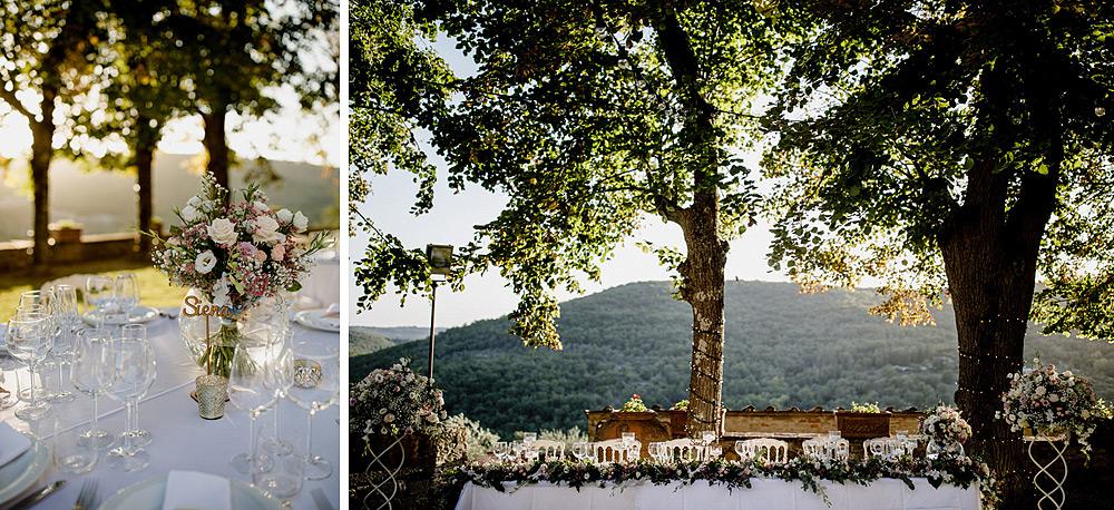 Matrimonio nel Chianti nell'incantevole atmosfera del Castello di Meleto :: Luxury wedding photography - 37