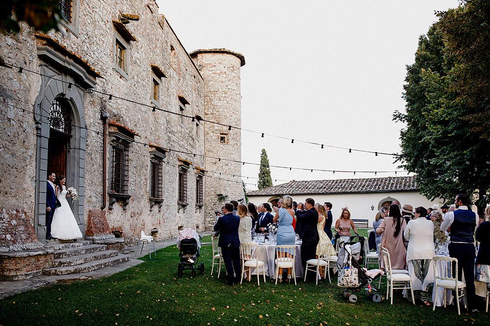 Matrimonio nel Chianti nell'incantevole atmosfera del Castello di Meleto :: Luxury wedding photography - 39
