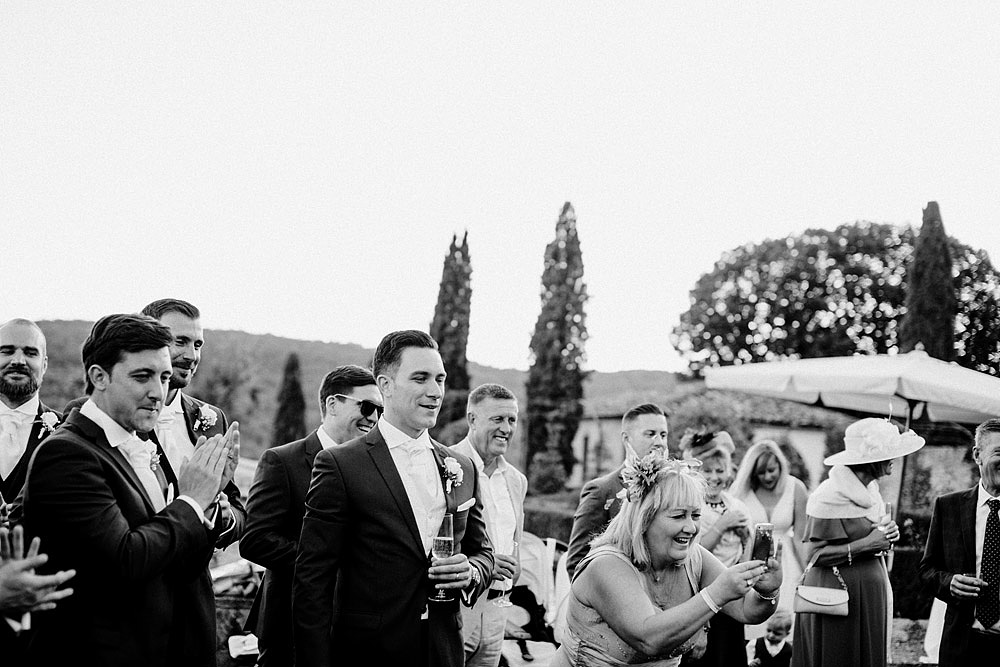 Matrimonio nel Chianti nell'incantevole atmosfera del Castello di Meleto :: Luxury wedding photography - 40